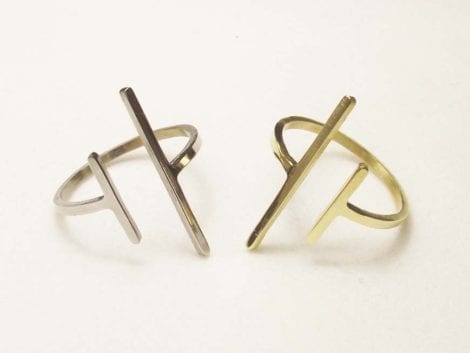 """Parallel"" Bar Ring"
