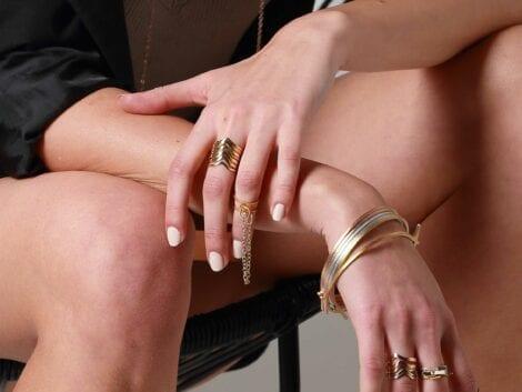 """""""The Knot"""" Skinny Bracelet"""