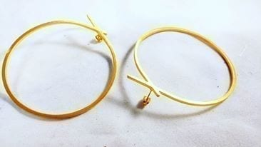 """The Knot"" Hoop Earrings"