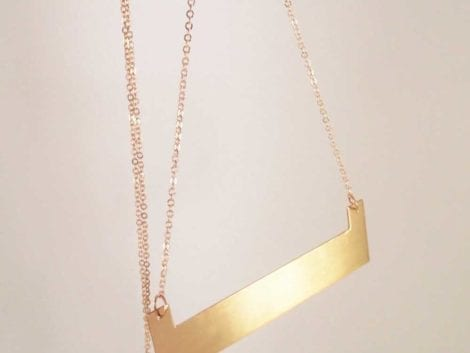 """BlanK"" Necklace"