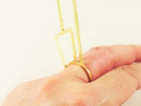 """Climax"" Skinny Ring"