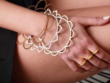 """""""Flores"""" Skinny Bracelet"""