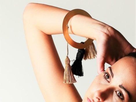 """The Chakram"" Bracelet"