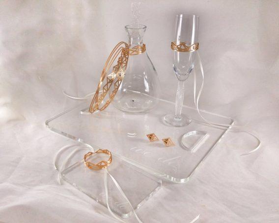 "Wedding Set ""Geometric"""