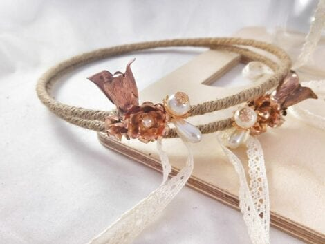 Wedding Set ''Desert Rose''1