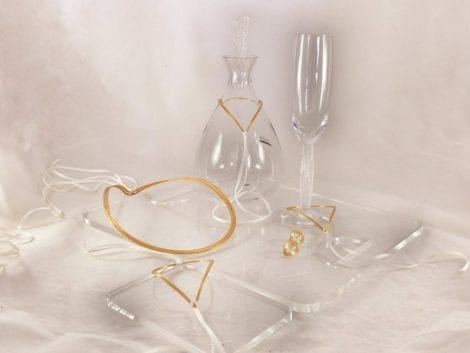 "Wedding Set ""Love Drops"""