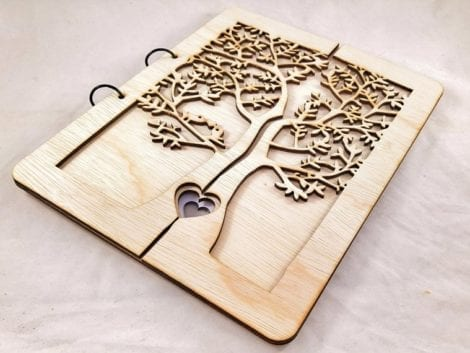 """The Tree of Life"" Wedding Guest Book"