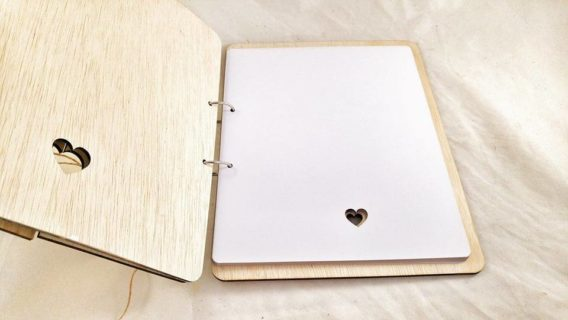 """""""The Tree of Life"""" Wedding Guest Book"""