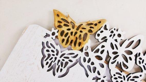 """""""Butterflies"""" Wedding Guest Book"""