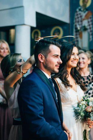 Γάμος με πολύ ρομαντισμό – Μαίρη & Βασίλης