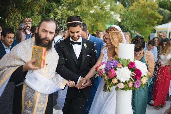 Chic καλοκαιρινος γαμος με Στέφανα Γάμου LakaLuka
