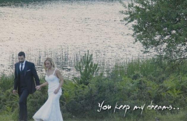 Δέσποινα & Σάκης: ένα όμορφο βίντεο γάμου