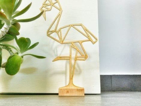 "Door stopper ""Flamingo"""