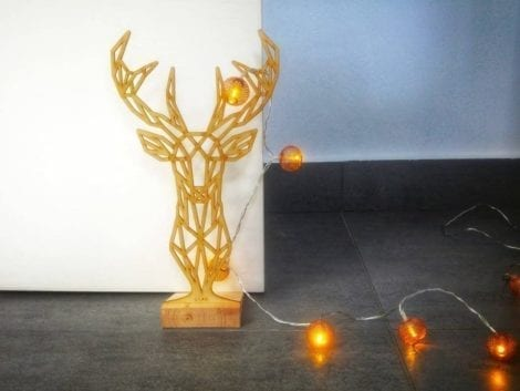 "Door stopper ""Reindeer"""