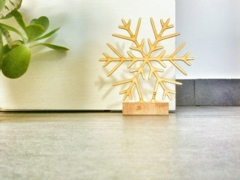 "Door stopper ""Snowflake"""