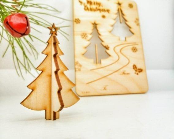 """Christmas greeting card """"Christmas Tree"""""""
