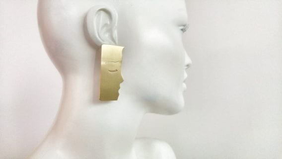 """The Kiss"" Earrings"