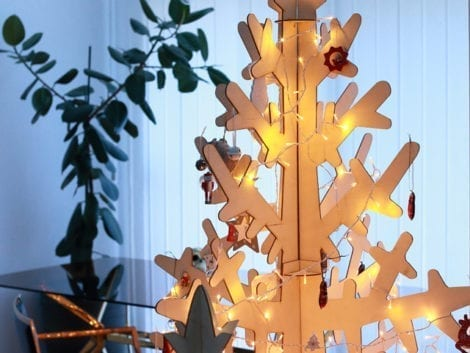 """Χριστουγεννιάτικο δέντρο """"Σημύδα"""""""