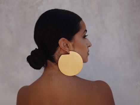 Discus Earrings