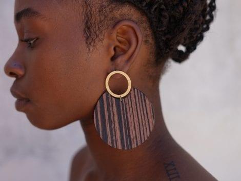 African Earrings 1