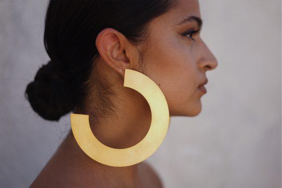 Trois quarts earrings 02