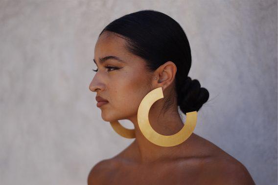 Trois quarts earrings 03